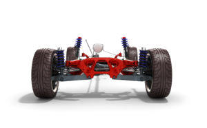 car suspension axle diagram